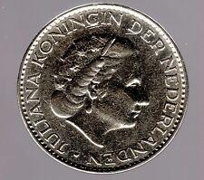 1 Gulden 1958 Niederlande in sehr schön/vorzüglich