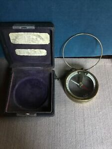 Vintage Magnetic Dipping Needle Tool w/ Case Municipal Instrument Co.