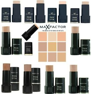 MAX FACTOR PAN STICK STIK FOUNDATION FULL COVERAGE 9g *CHOOSE YOUR SHADE*