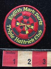 Miscellaneous Patch English Mark Darts Triple Hattrick Club Bull's-Eye 72K5