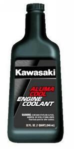Kawasaki Aluma Cool Engine Coolant Pre-Diluted 32 Ounce Bottle Antifreeze