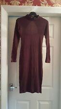 Miss Selfridge Bodycon Midi Dress Size 8...look at back of dress