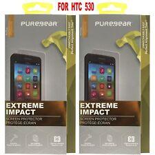 PureGear Extreme Impact Screen Protector Kit For HTC Desire 530 New--2 FOR $6.99