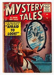 MYSTERY TALES #37 CARL BURGOS CVR, JOHN ROMITA ART 1956