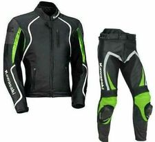 Your Very Own Kawasaki Motorbike Racing Leather Suit 2piece
