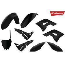 Polisport Restyle Plastics Kit Black off Road Dirt MX for 02 - 08 Honda Cr125r