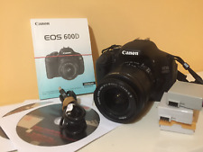 Ensemble reflex CANON EOS 600D complet + 2 objectifs