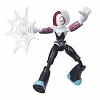 Marvel Spider-Man Bend and Flex Ghost-Spider 6-Inch Flexible Action Figure