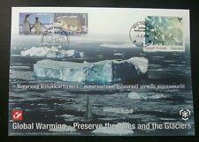 Belgium Greenland Joint Issue Preserve Polar Region Bear Penguin 2009 (FDC *Rare
