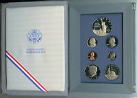1986 Prestige Proof Set Ellis Island United States Mint Commemorative Coin OGP