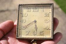 Vintage GOLDSMITHS & SILVERSMITHS 8 Day Pocket Watch - Swiss Made - Working