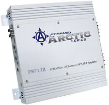 2 Channel Car Audio Stereo Speaker Box Sub Woofer Power Amplifier Pyramid PB717X