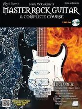 Master Rock Guitar: A Complete Course (Book/2-DVD set), McCarthy, John, Excellen