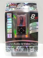 "Naxa NMV-173NX Portable MP4 MP3 Media Player 8GB 1.8"" LCD Screen NEW"