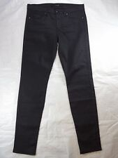 JOES JEANS coated dk charcoal the SKINNY stretch black women's jeans SIZE 27