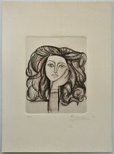 PABLO PICASSO Etching hand signed