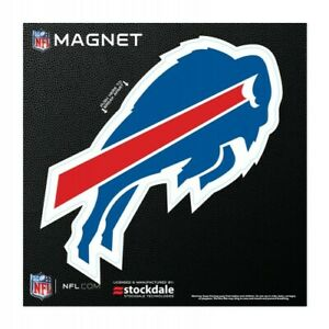"""BUFFALO BILLS 6""""X6"""" DIE-CUT MAGNET FOR INDOOR OR OUTDOOR USE HEAVY DUTY"""