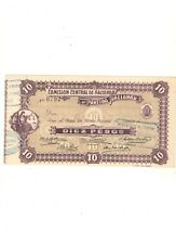 Uruguay, 10 Pesos 1921, RARE