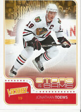 Jonathan Toews 2011 Victory Stars Of The Game NHL Trading Card SOG-JT