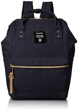 anello #AT-B0197B small backpack with side pockets navy Japanese Import