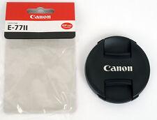 CANON nouveau bouchon avant objectif diam. 77mm à pince centrale