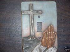 Ceramic mold, Jay-Kay switch plate cover Calvary