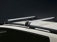 OEM GENUINE NEW MERCEDES BENZ ROOF RACK BASIC CARRIER SILVER/BLACK 13-UP GL X166