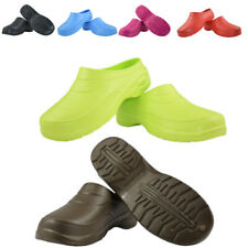 More details for clogs mens womens waterproof garden shoes nursing hospital sandals beach unisex