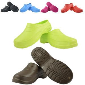 Clogs Mens Womens Waterproof Garden Shoes Nursing Hospital Sandals Beach Unisex