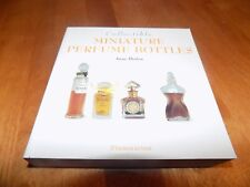 COLLECTIBLE MINIATURE PERFUME BOTTLES Collector Antiques Antique Bottle Book NEW