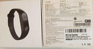 1x4 St. Fitnessarmband - Xiaomi - Band 2 - Sport Uhr - neu - für Bastler