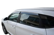 Tinted Door Visor Weather Rain Shield Slim for Hyundai Tucson TL 15-19