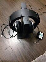 Sony Wireless Stereo Headphones & Digital Surround Processor Charging MDR-RF6500