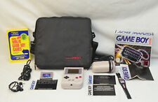 Nintendo Game Boy Handheld Game System Complete w/Tetris Battery Pack,case,watch