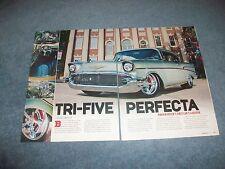 "1957 Chevy Bel Air RestoMod Article ""Tri-Five Perfecta"""