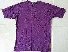Polo Ralf Lauren Mens Purple T-Shirt M