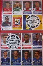 Panini WM 2010 - Alle 80 UPDATE Sticker deutsche Edition - Sondersticker UPDATE