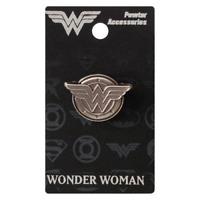 Wonder Woman Logo Version 2 Pewter Lapel Pin