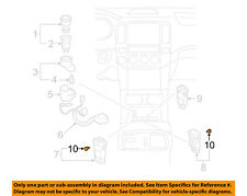 TOYOTA OEM 03-09 4Runner Dash Instrument Panel-Light Bulb 9001001083