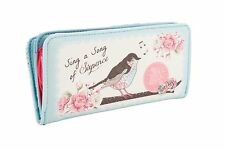 Posies 'Sing A Song Of Sixpence' Wallet Pale blue & pink purse ART387
