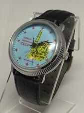 Russian Working Mens 21 Jewel Wrist Watch Hand Wind