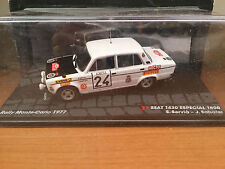 """DIE CAST """" SEAT 1430 ESPECIAL 1800 RMC - 1977 """" PASSIONE RALLY SCALA 1/43"""