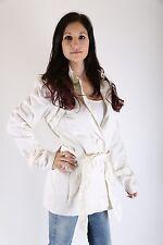 Vero Moda Damen Trenchcoat Jacke Memphis Short Größe M snow white *only sexy*