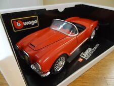BBurago 1955 Lancia Aurelia B24 Spider  Red 1:18 Scale Diecast