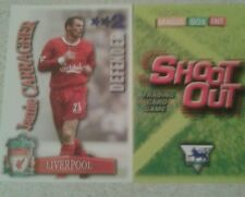 SHOOT OUT CARD 2003/04 (03/04) - Green Back - Liverpool - Jamie Carragher