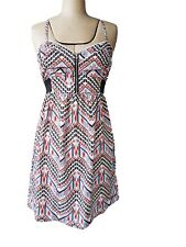 Billabong Tribal Print Sundress SZ S Surf Beach Summer Surf Boho