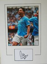 Manchester City Main Signé Samir Nasri 16x12 monté photo.