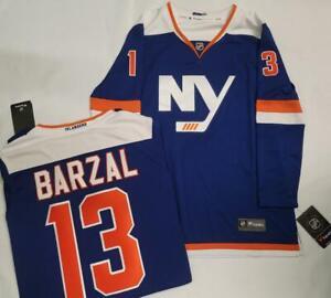 1621 WOMENS Fanatics New York Islanders MATHEW BARZAL Sewn Hockey JERSEY New