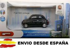 1/43 FIAT 500 CLASICO COCHE DE METAL A ESCALA COLECCION DIE CAST LICENCIA FIAT
