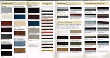 1988 Oldsmobile COLOR CHIP CHART Brochure: CUTLASS CALAIS,DELTA 88,98,TROFEO,SL